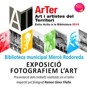Exposició 'Fotografiem l'art' als pallaresos, 2019