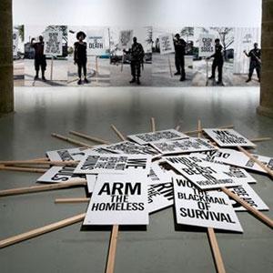 Exposició 'Democracia. ORDER' a La Panera, Lleida
