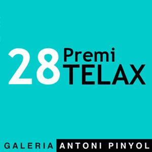 Exposició del 28è Premi Telax, GAleria Antoni Pinyol, Reus, 2020