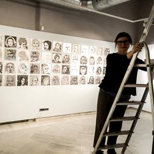 Exposició 'Solcs' de Teresa Felip