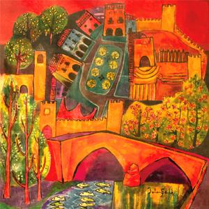 Exposició 'El Pont Vell a ulls d'artista' a Montblanc, 2019