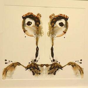 Exposició 'Processos intuïtius de creació' d'Ismael Lozano i Félix Lozano