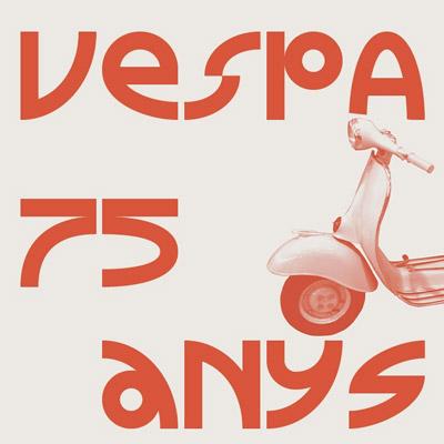 Exposició '75 anys de Vespa' al Roda Roda Museu de l'Automoció, Lleida, 2021