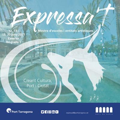 Mostra Expressa't al Moll de la Costa, port de Tarragona, 2021