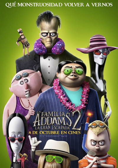 La familia Addams 2. La gran escapada
