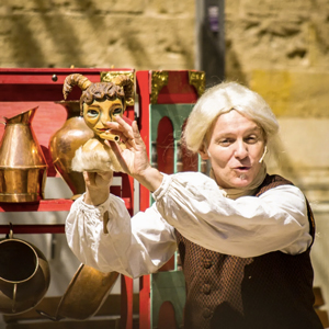 Teatre familiar 'El Faune, el drac i el dimoni' d'Eudald Ferré i Gerard Mallorquí