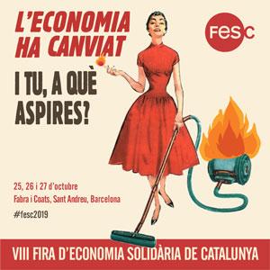 VIII Fira d'Economia Solidària de Catalunya (FESC) - Barcelona 2019