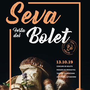 22a Festa del Bolet - Seva 2019