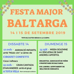 Festa Major - Baltarga 2019