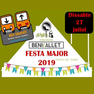 Festa Major - Estació de Benifallet 2019