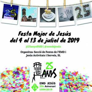 Festa Major - Jesús 2019