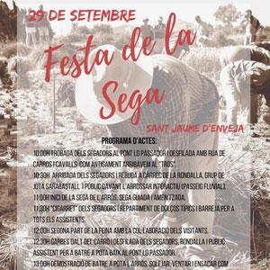 Festa de la Sega - Sant Jaume d'Enveja 2019