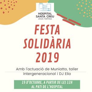 Festa Solidària - Hospital Santa Creu Jesús 2019