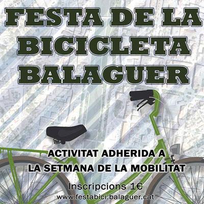 Festa de la bicicleta a Balaguer, 2020