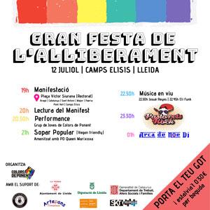 Gran Festa de l'Alliberament a Lleida, 2019