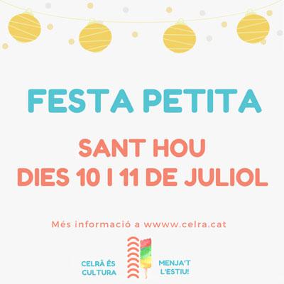 Festa Petita Sant Hou, Celrà, 2020