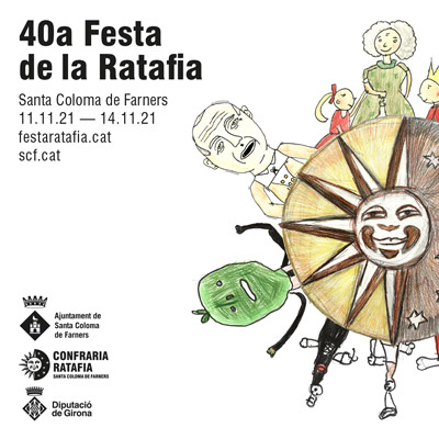 40a Festa de la Ratafia, Santa Coloma de Farners, 2021