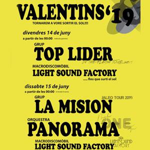 Festes Majors - Els Valentins 2019