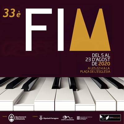 33a edició del Festival Internacional de Música d'Altafulla, 2020