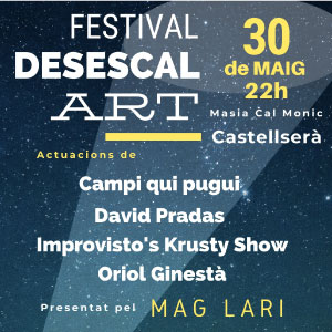 Festival Desescal-ART a la Masia de Cal Monic, Castellserà, 2020