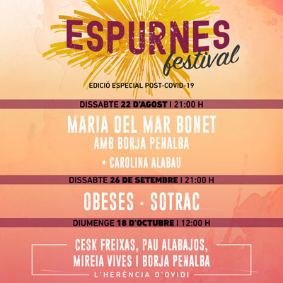 Festival Espurnes, Llagostera, 2020