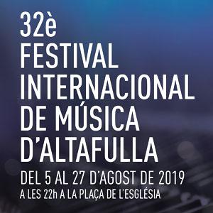 Festival Internacional de Música d'Altafulla, 2019