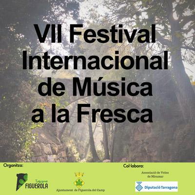 Festival de Música a la Fresca, Figuerola del Camp i Miramar, 2021