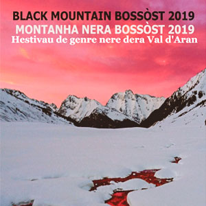 Black Mountain Bossòst, el festival de novel·la negra, 2019