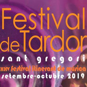 Festival de Tardor de Sant Gregori, 2019