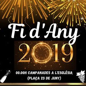 Fi d'Any - Sant Jaume d'Enveja 2019