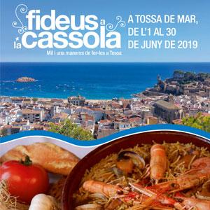 Fideus a la Cassola a Tossa, 2019