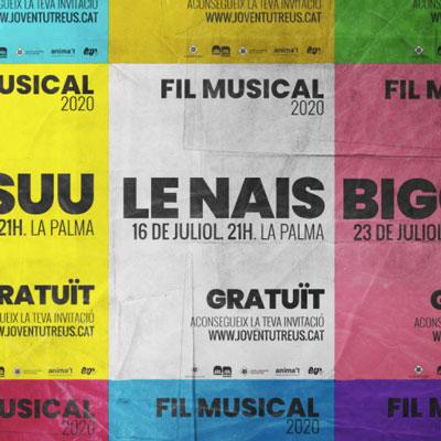 Cicle de Concerts Fil Musical, Reus, 2020