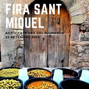Fira de Sant Miquel - Santpedor 2019