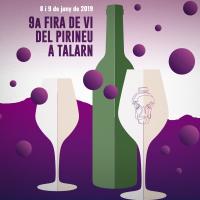 Fragment del cartell de la Fira del Vi del Pirineu a Talarn