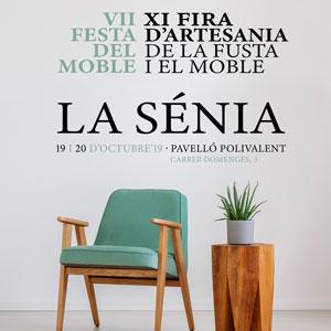 VII Festa del Moble. XI Fira d'Artesania de la Fusta i el Moble - La Sénia 2019