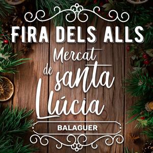 Fira dels Alls de Balaguer, Mercat de Santa Llúcia, 2019
