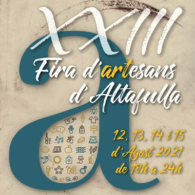 Fira d'Artesans d'Altafulla, 2021