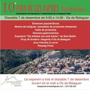 10a edició de la Fira de les Aspres del Montsec a Òs de Balaguer, 2019