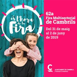 62a Fira de Cambrils, 2019