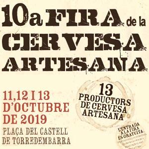 10a Fira de la Cervesa Artesana de Torredembarra, 2019