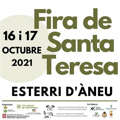 Fira de Santa Teresa, Esterrri d'Àneu, 2021