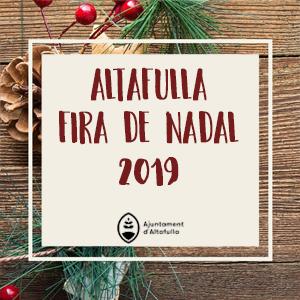 Fira de Nadal a Altafulla, 2019