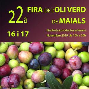 22a edició de la Fira de l'Oli Verd a Maials