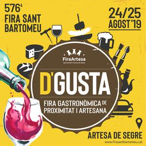 576a edició de la Fira de Sant Bartomeu d'Artesa de Segre, 2019