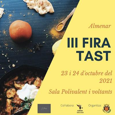 FiraTast, Jornada de Tastets Gastronòmics, Almenar, 2021