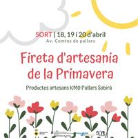 El cartell de la Fireta de Primavera de Sort