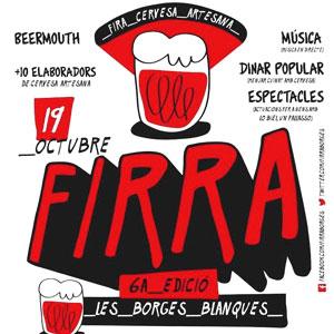 6a edició Firra, la Mostra de Cervesa Artesana a Les Borges Blanques, 2019