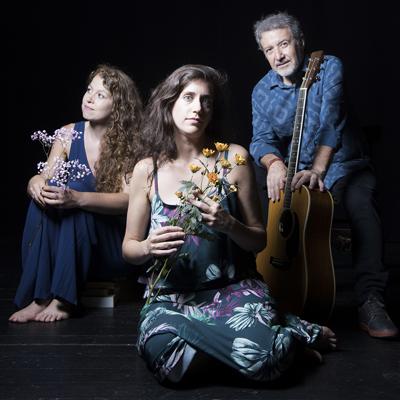 Concert 'El viatge de les mans' de Toni Xuclà, Clàudia Cabero i Gemma Abrié