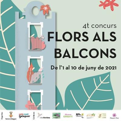 Concurs Flors als Balcons a Balaguer, 2021