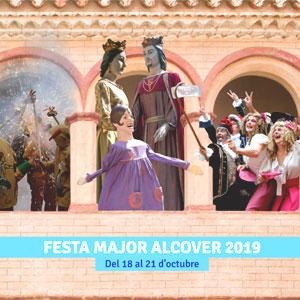 Festa Major d'Alcover, 2019